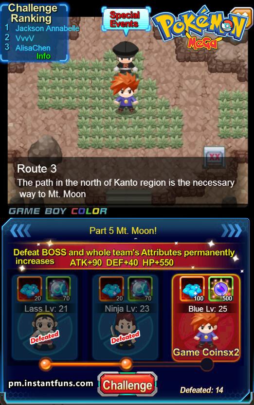 Pokemon Online Spiele
