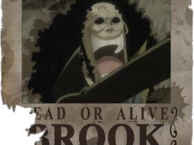 Brook und bevor er gestorben ist auch Brook yohohoho