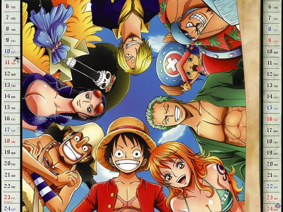 One Piece Kalender 2012 November - Dezember