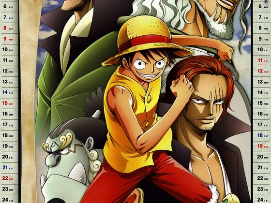 One Piece Kalender 2012 Januar - Februar